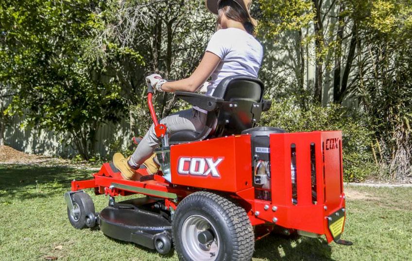 COX mower